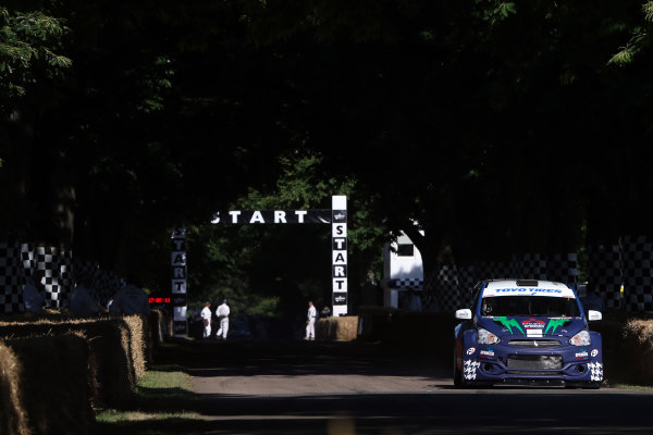 2017 Goodwood Festival of Speed. Goodwood Estate, West Sussex, England. 30th June - 2nd July 2017. James Grint  World Copyright : JEP/LAT Images