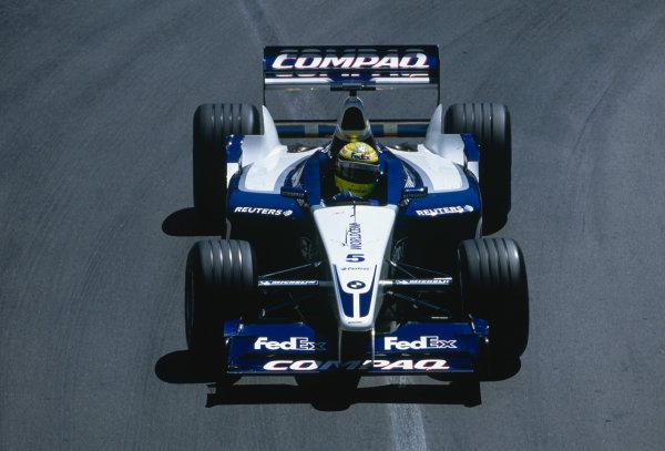 2002 Monaco Grand Prix.Monte Carlo, Monaco. 23-26 May 2002.Ralf Schumacher (Williams FW24 BMW).Ref-02 MON 43.World Copyright - Lorenzo Bellanca/LAT Photographic