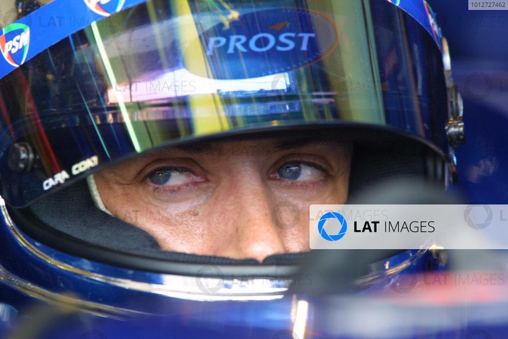 2001 San Marino Grand Prix - FRIDAY PRACTICE
