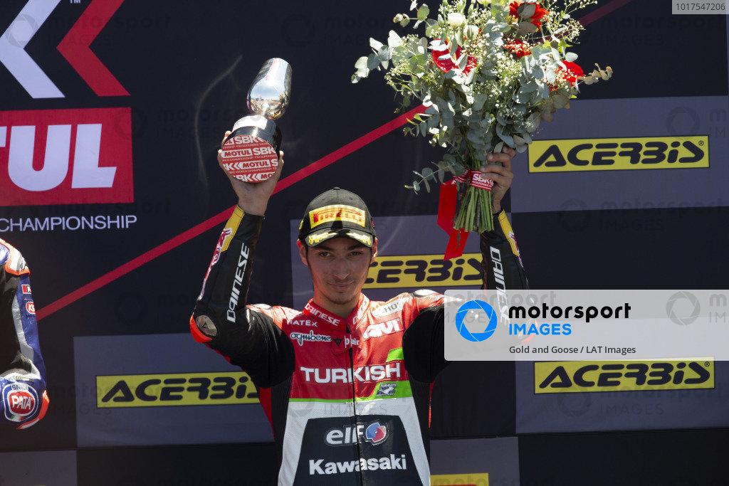 Third place Toprak Razgatlioglu, Turkish Puccetti Racing