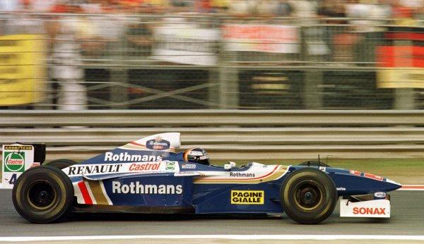 1997 Italian Grand Prix.Monza, Italy.5-7 September 1997.Heinz-Harald Frentzen (Williams FW19 Renault).World Copyright - LAT Photographic