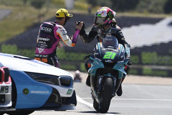 Franco Morbidelli, Petronas Yamaha SRT, Andrea Migno.