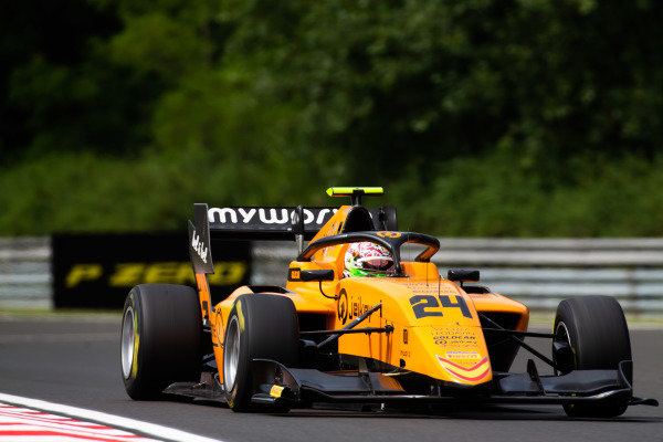 HUNGARORING, HUNGARY - AUGUST 02: Alessio Deledda (ITA, Campos Racing) during the Hungaroring at Hungaroring on August 02, 2019 in Hungaroring, Hungary. (Photo by Joe Portlock / LAT Images / FIA F3 Championship)