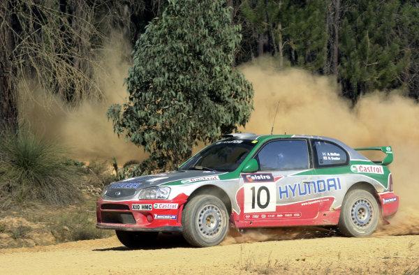 2001 World Rally ChampionshipTelstra Rally Australia, Perth, WA. 1-4 November 2001.Alister McRae on stage 7.Photo: Ralph Hardwick/LAT