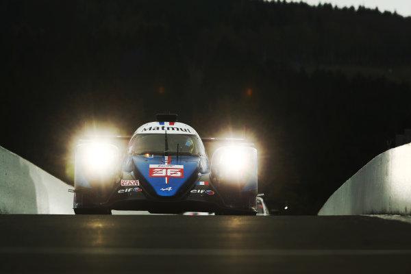 #36 Alpine Elf Matmut Alpine 480 Gibson: Andre Negrao, Nicolas Lapierre, Matthieu Vaxiviere