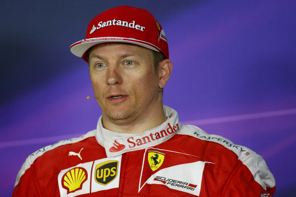 Kimi Raikkonen (FIN) Ferrari in the Press Conference at Formula One World Championship, Rd9, Austrian Grand Prix, Race, Spielberg, Austria, Sunday 3 July 2016.