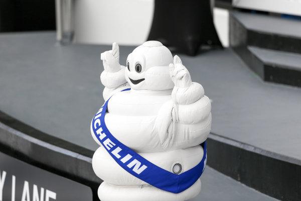 Bibendum, Michelin Man, victory lane