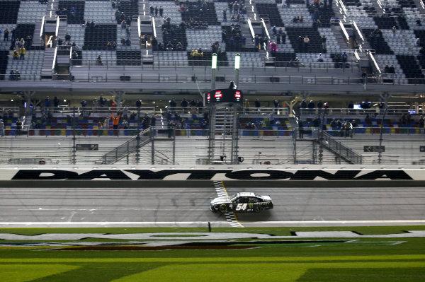 #54: Ty Gibbs, Joe Gibbs Racing, Toyota Supra Monster Energy