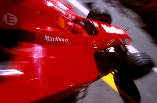 Michael Schumacher(GER) Ferrari F1 2001 Austrian Grand Prix, A1 Ring, 13 May 2001 BEST IMAGE