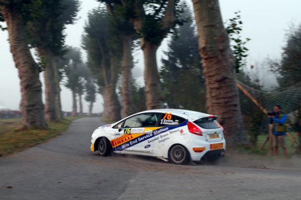 Round 11-Rallye de France. Elfyn Evans, Ford Fiesta R2, Action.Worldwide Copyright: McKlein/LAT