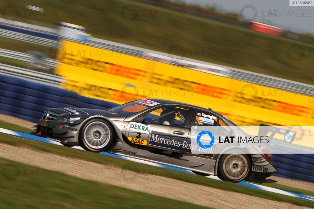Bruno Spengler (CDN), Mercedes-Benz Bank AMG C-Klasse (2009).