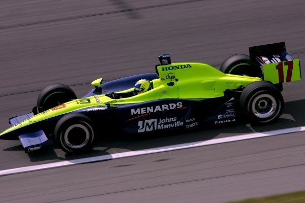 Vitor Meira (BRA), Rahal Letterman Racing Panoz Honda, qualified third for the Argent Mortgage Indy 300.