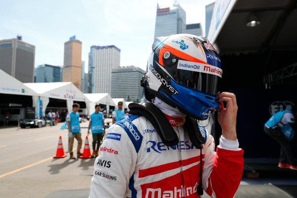 2017/2018 FIA Formula E Championship. Round 1 - Hong Kong, China. Saturday 02 December 2017. Felix Rosenqvist (SWE), Mahindra Racing, Mahindra M4Electro. Photo: Sam Bloxham/LAT/Formula E ref: Digital Image _J6I4390