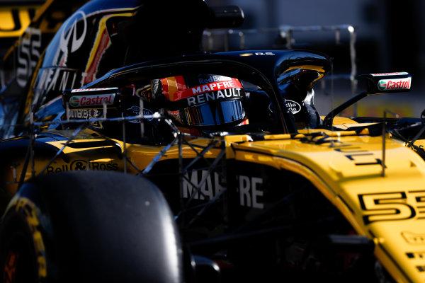 Circuit de Catalunya, Barcelona, Spain. Friday 09 March 2018. Carlos Sainz Jr., Renault Sport F1 Team R.S. 18. World Copyright: Glenn Dunbar/LAT Images ref: Digital Image _X4I1549