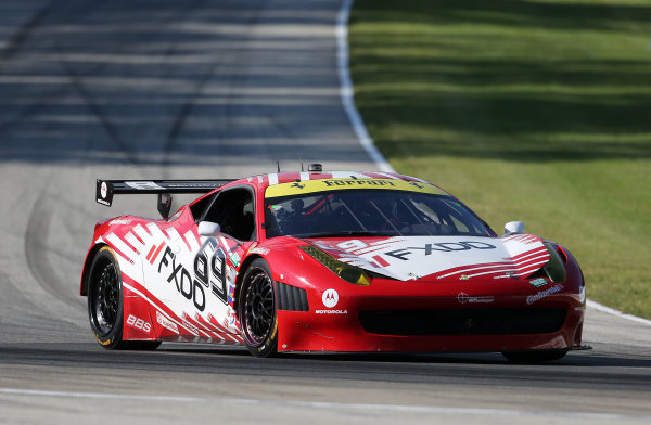 8-10 August, 2013, Elkhart Lake, Wisconsin USA The #69 Ferrari of Emil Assentato and Anthony Lazzaro races through a turn during practice. ©2013, R.D. Ethan LAT Photo USA