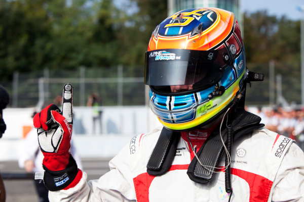 2014 GP3 Series. Round 7.   Autodromo di Monza, Monza, Italy. Sunday 7 September 2014. Dean Stoneman (GBR, Marussia Manor Racing). Photo: Zak Mauger/GP3 Series Media Service. ref: Digital Image IMG_9489