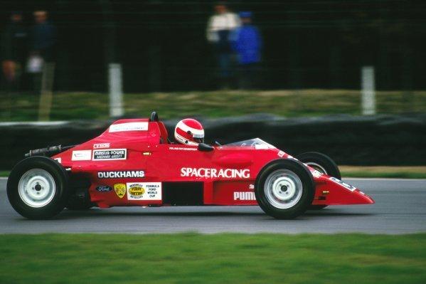 Festival winner Roland Ratzenberger (AUT) Van Diemen.British Formula Ford Festival, Brands Hatch, England, 24-26 October 1986.