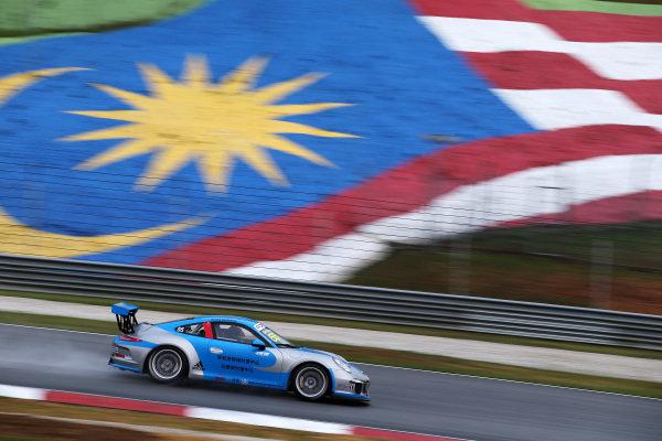 Da Sheng Zhang (CHN) Zheng Tong Auto. Porsche Carrera Cup Asia, Sepang, Malaysia, 28-30 March 2014.