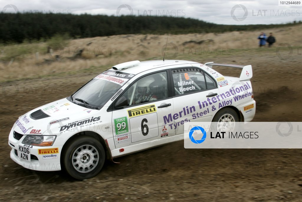 2006 British Rally Championship,Pirelli International Rally, Carlisle 13th-14th May 2006,Jonny Milner,World Copyright: Jakob Ebrey/LAT Photographic.