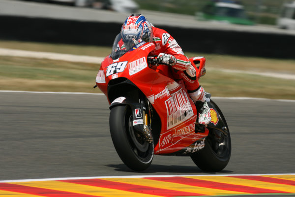 Gran Premio D'Itali Alice.Mugello, Italy. 29th May 2009.Nicky Hayden Ducati Marlboro Team.World Copyright: Martin Heath/LAT Photographicref: Digital Image BPI_Moto 8hwg