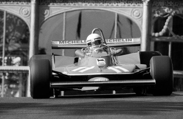Race winner Jody Scheckter (RSA) Ferrari 312T4. Monaco Grand Prix, Rd 7, Monte Carlo, Monaco, 27 May 1979.