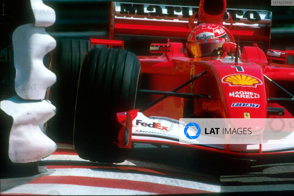 2001 Monaco Grand Prix.