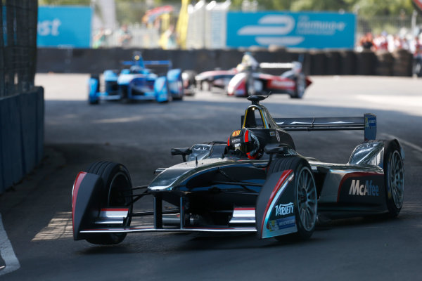 2014 Formula E  Buenos Aires e-Prix, Argentina Saturday 10 January 2015. Oriol Servia (SPA)/Dragon Racing - Spark-Renault SRT_01E  Photo: Alastair Staley/LAT/Formula E ref: Digital Image _79P3884