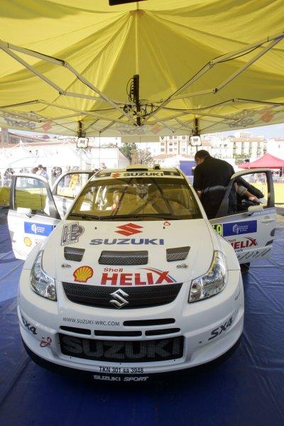 2007 FIA World Rally ChampionshipRound 13Rally of France, Tour de Course 200711-14 October 2007Nicolas Bernardi, WRC Suzuki, Service.Worldwide Copyright: McKlein/LAT