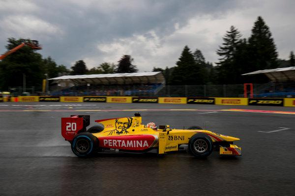 2017 FIA Formula 2 Round 8. Spa-Francorchamps, Spa, Belgium. Friday 25 August 2017. Norman Nato (FRA, Pertamina Arden).  Photo: Zak Mauger/FIA Formula 2. ref: Digital Image _54I0679