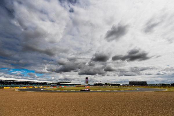 Silverstone, Northamptonshire, UK. Friday 14 July 2017. Esteban Ocon, Force India VJM10 Mercedes. World Copyright: Zak Mauger/LAT Images ref: Digital Image _56I8700