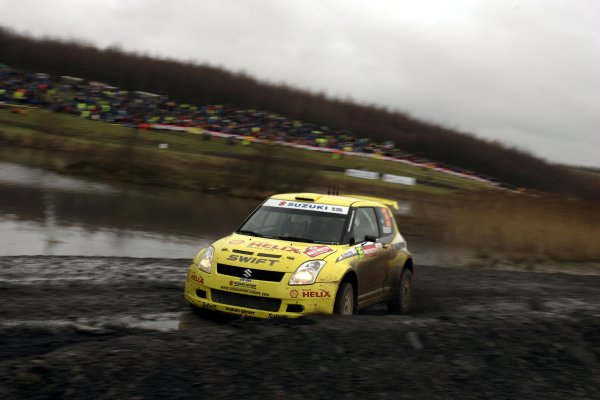 2006 FIA World Rally Champs. Round sixteen.Wales Rally GB. 1st-3rd December 2006.PG Andersson, Suzuki, action. World Copyright: McKlein/LAT