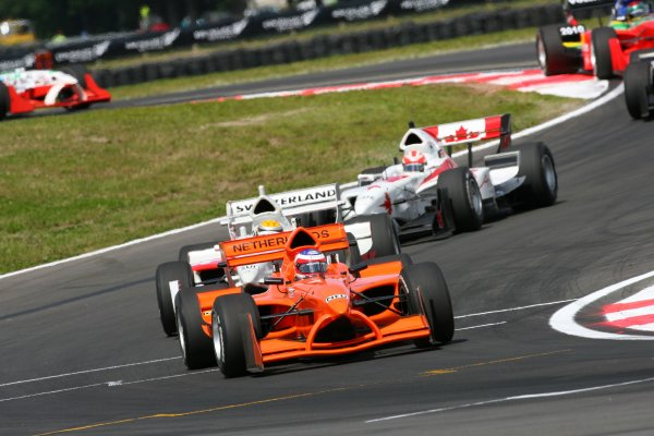 21.01 2007 Taupo, New Zealand, Jeroen Bleekemolen, Driver of A1Team Netherlands - A1GP World Cup of Motorsport 2006/07, Round 6, Taupo, Sunday Race 1 - Copyright A1GP - Free for editorial usage