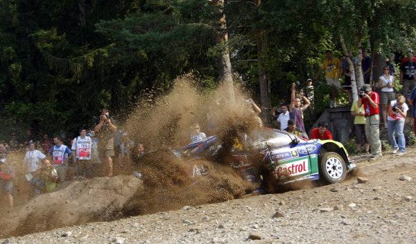 Round 08Rally Finland 29-31 July 2010Jari-Matti Latvala, Ford WRC, ActionWorldwide Copyright: McKlein/LAT