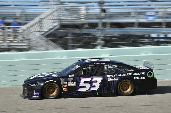 #53: B.J. McLeod, Rick Ware Racing, Chevrolet Camaro AQRE.app