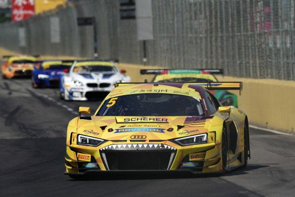 #5 Phoenix Racing Audi R8 LMS: Christopher Haase.