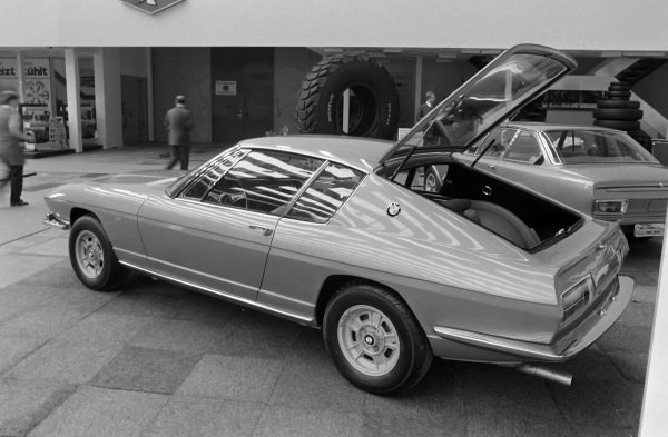 The BMW 2800 GTS coupe concept.