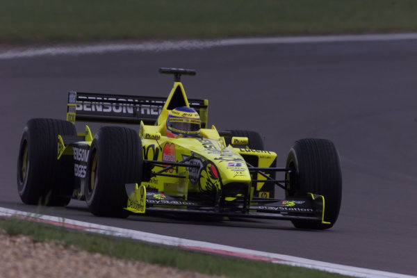 2000 European Grand Prix.Nurburgring, Germany. 19-21 May 2000.Jarno Trulli (Jordan EJ10 Mugen Honda).World Copyright - LAT Photographic