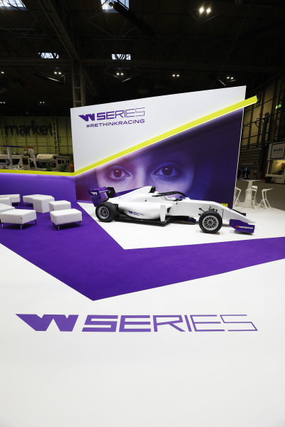 The W Series stand.