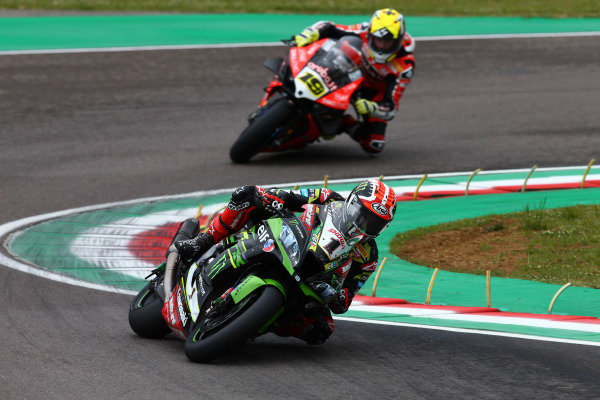 Jonathan Rea, Kawasaki Racing Team, Alvaro Bautista, Aruba.it Racing-Ducati Team.