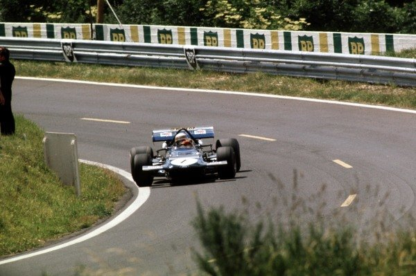 1970 French Grand Prix.Clermont-Ferrand, France.3-5 July 1970.Jackie Stewart (March 701 Ford) 9th position.Ref-70 FRA 40.World Copyright - LAT Photographic