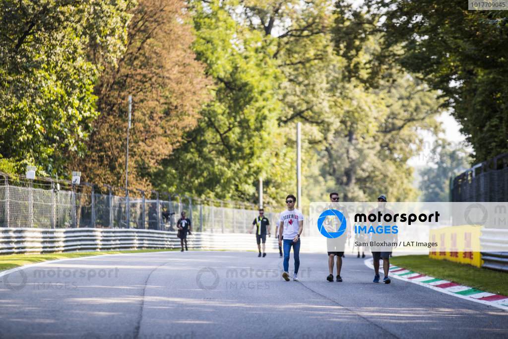 AUTODROMO NAZIONALE MONZA, ITALY - SEPTEMBER 05: Teppei Natori (JPN, Carlin Buzz Racing) during the Monza at Autodromo Nazionale Monza on September 05, 2019 in Autodromo Nazionale Monza, Italy. (Photo by Sam Bloxham / LAT Images / FIA F3 Championship)