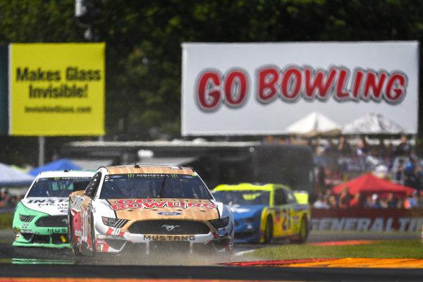 #10: Aric Almirola, Stewart-Haas Racing, Ford Mustang Go Bowling