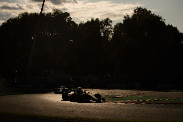 AUTODROMO NAZIONALE MONZA, ITALY - SEPTEMBER 07: Luca Ghiotto (ITA, UNI VIRTUOSI) during the Monza at Autodromo Nazionale Monza on September 07, 2019 in Autodromo Nazionale Monza, Italy. (Photo by Joe Portlock / LAT Images / FIA F2 Championship)