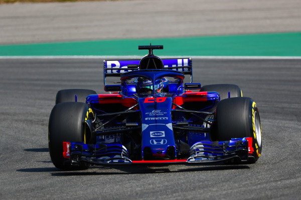 Brendon Hartley, Toro Rosso STR13 Honda.