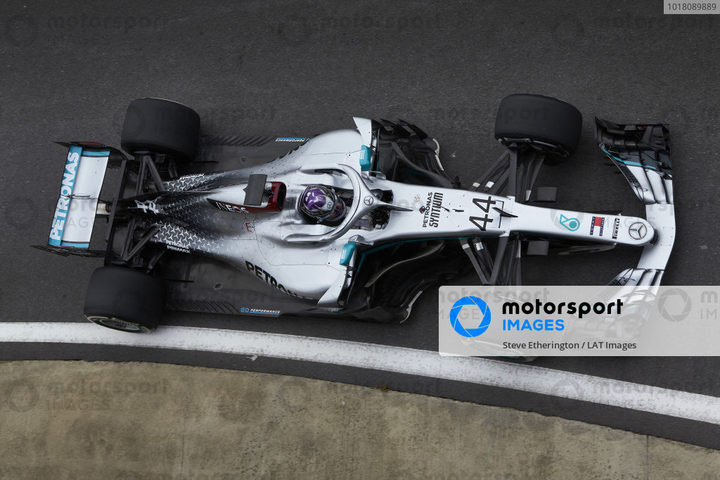 Mercedes F1 Team June testing
