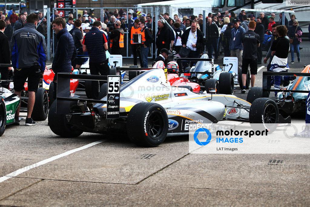F4 British Championship: Donington Park