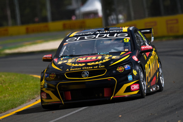 2017 Supercars Championship, Australian Grand Prix Support Race, Albert Park, Victoria, Australia. Thursday March 23rd to Sunday March 26th 2017. Will Davison drives the #19 Tekno Woodstock Racing Holden Commodore VF. World Copyright: Daniel Kalisz/LAT Images Ref: Digital Image 230217_VASCAUSGP_DKIMG_0416.JPG