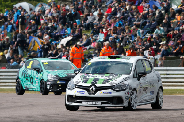 2017 Renault Clio Cup Thruxton, 6th-7th May 2017,  Jade Edwards (GBR) Ciceley Motorsport Renault Clio Cup World copyright. JEP/LAT Images