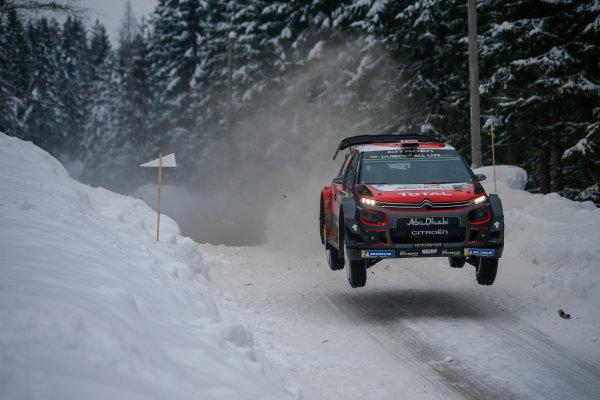 2018 FIA World Rally Championship, Round 02, Rally Sweden 2018, February 15-18, 2018. Mads Ostberg, Citroen, Action Worldwide Copyright: McKlein/LAT