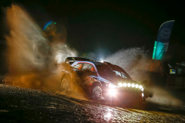 2017 FIA World Rally Championship, Round 12, Wales Rally GB, 26-29 October, 2017, Thierry Neuville, Hyundai, action, Worldwide Copyright: LAT/McKlein